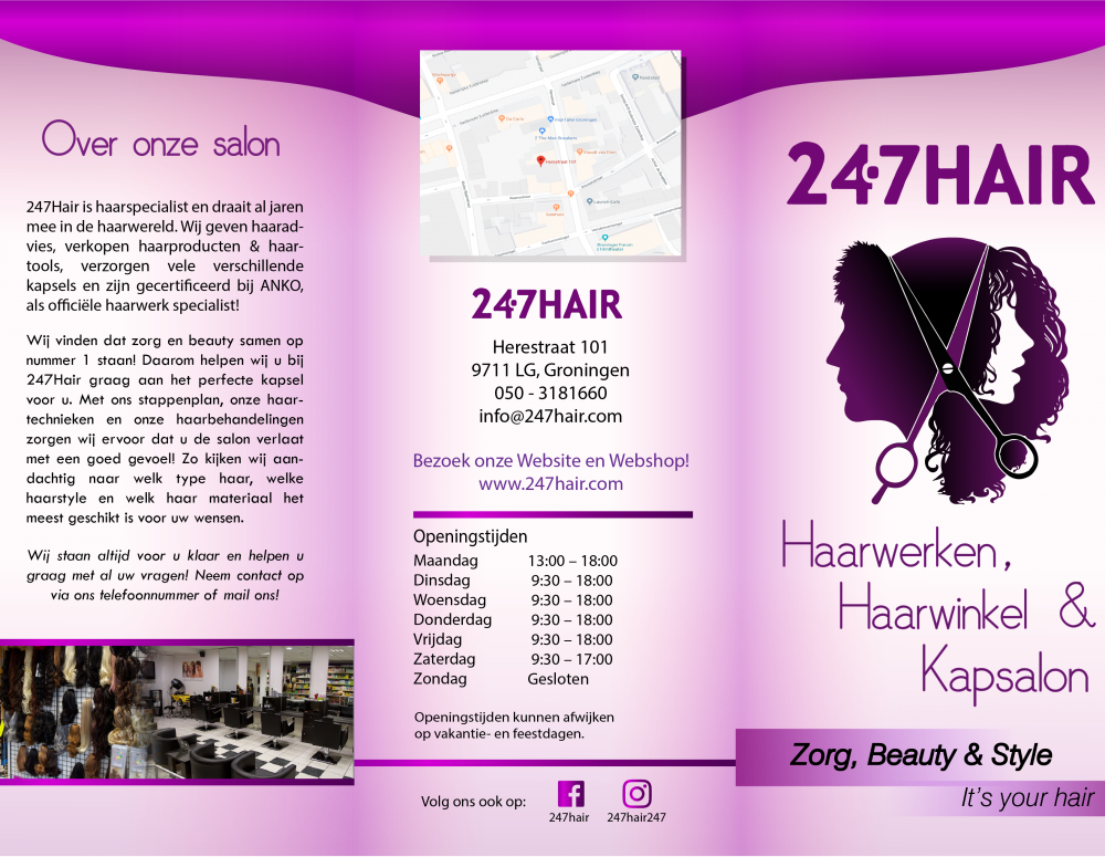 Flyer 247Hair Buitenkant Def 2